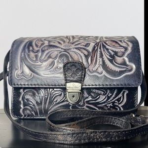 Patricia Nash Convertible Crossbody Handbag